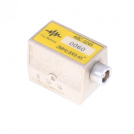 Sonda Tru-sonic 2Mhz, 45º, 8x9mm