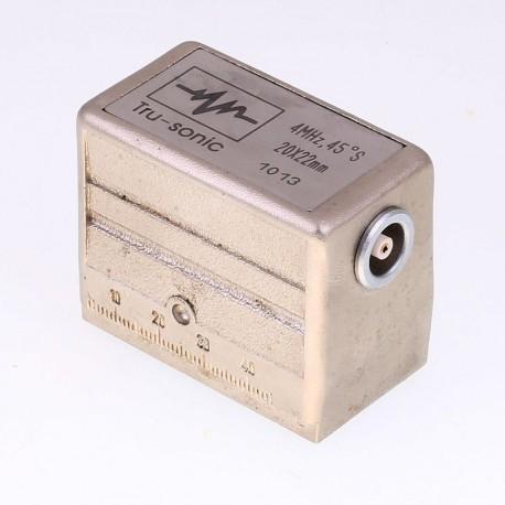 Sonda Tru-sonic 4Mhz, 45º, 20x22mm