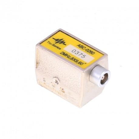 Sonda Tru-sonic 2Mhz, 60º, 8x9mm